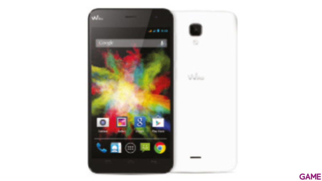 "Smartphone Wiko Bloom 4,7"" IPS Quad Core Blanco"