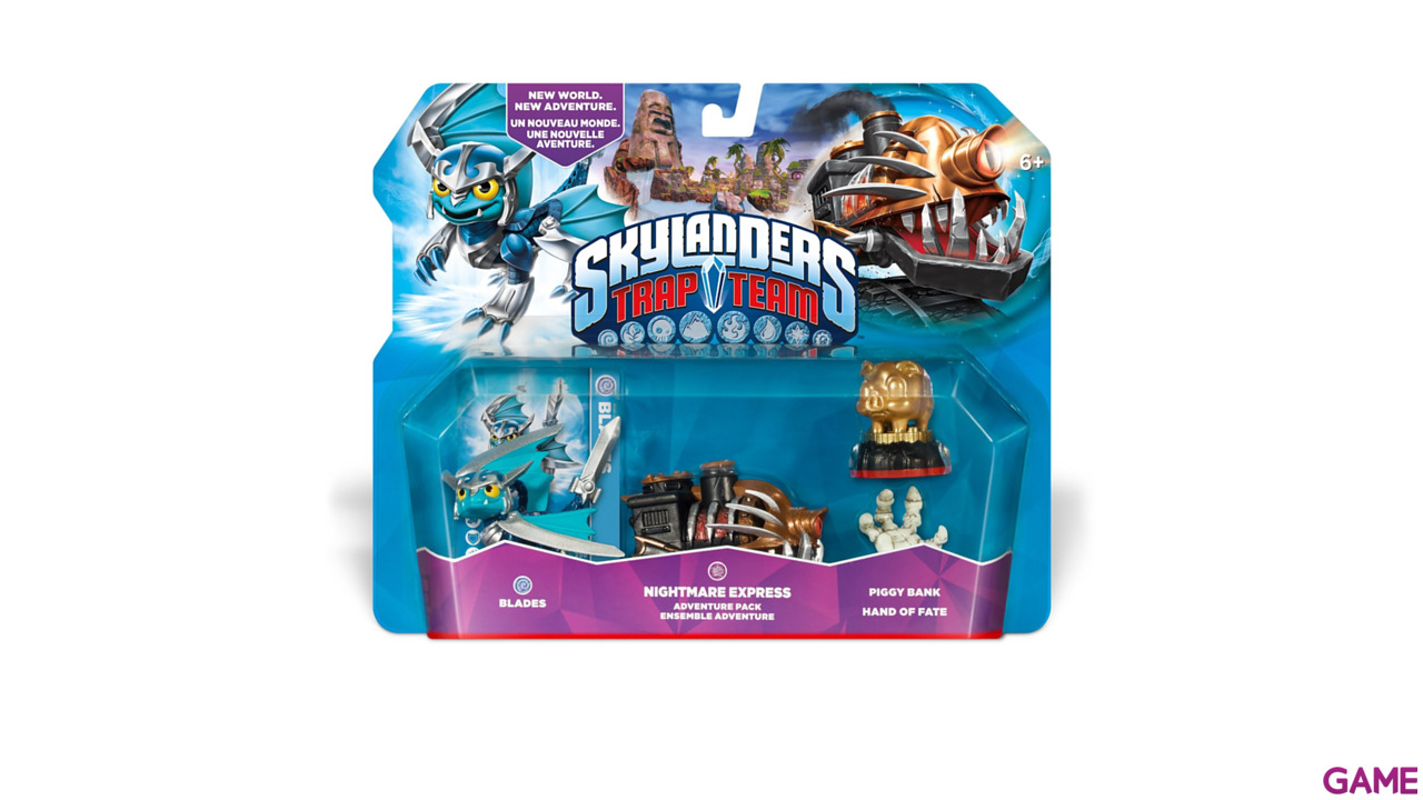 Skylanders Trap Team Adventure Pack: Nightmare Express