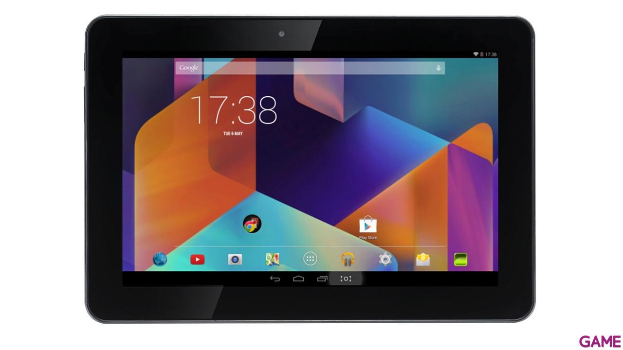 "Tablet HannsPad SN1AT74 10.1"" IPS Quad Core Negra"