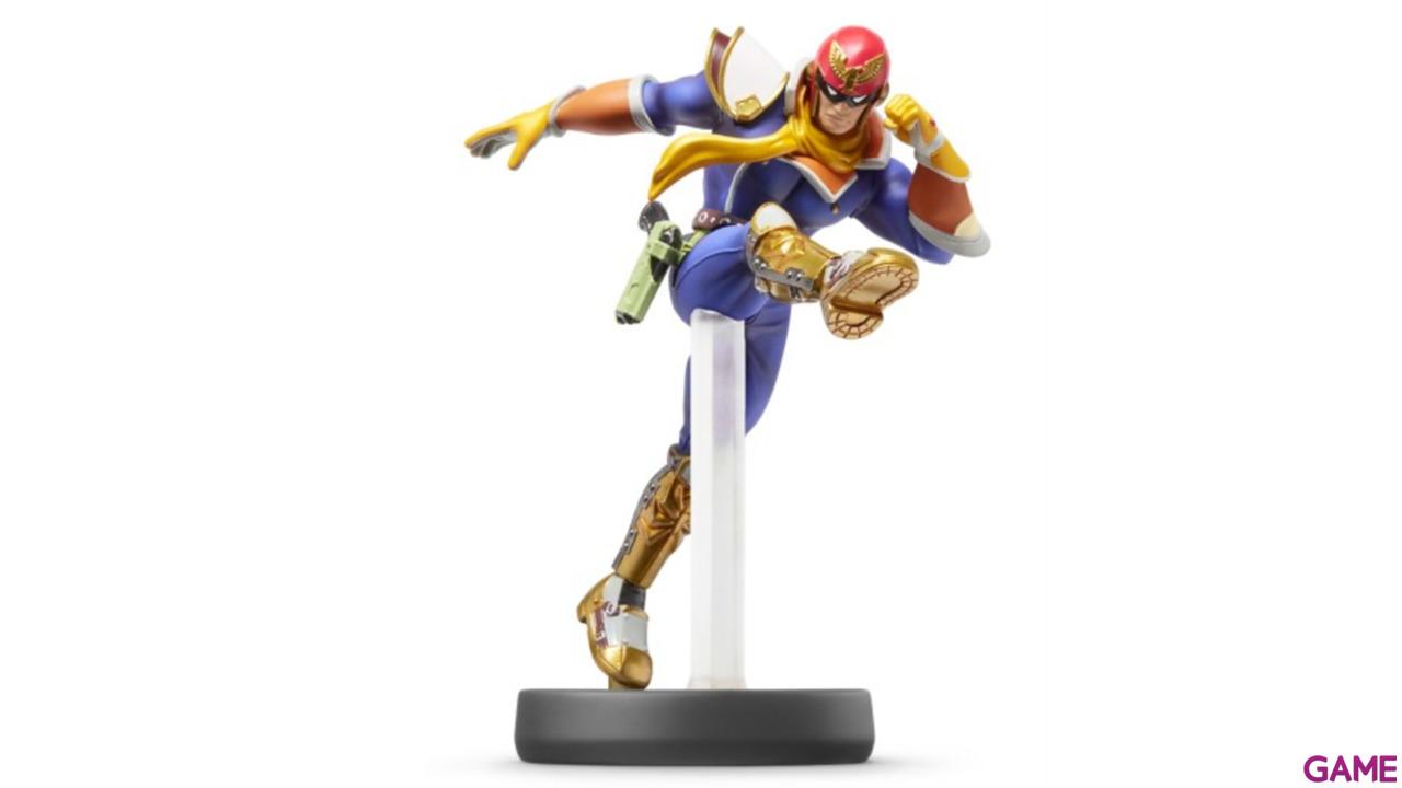 Figura Amiibo Smash Capitán Falcon
