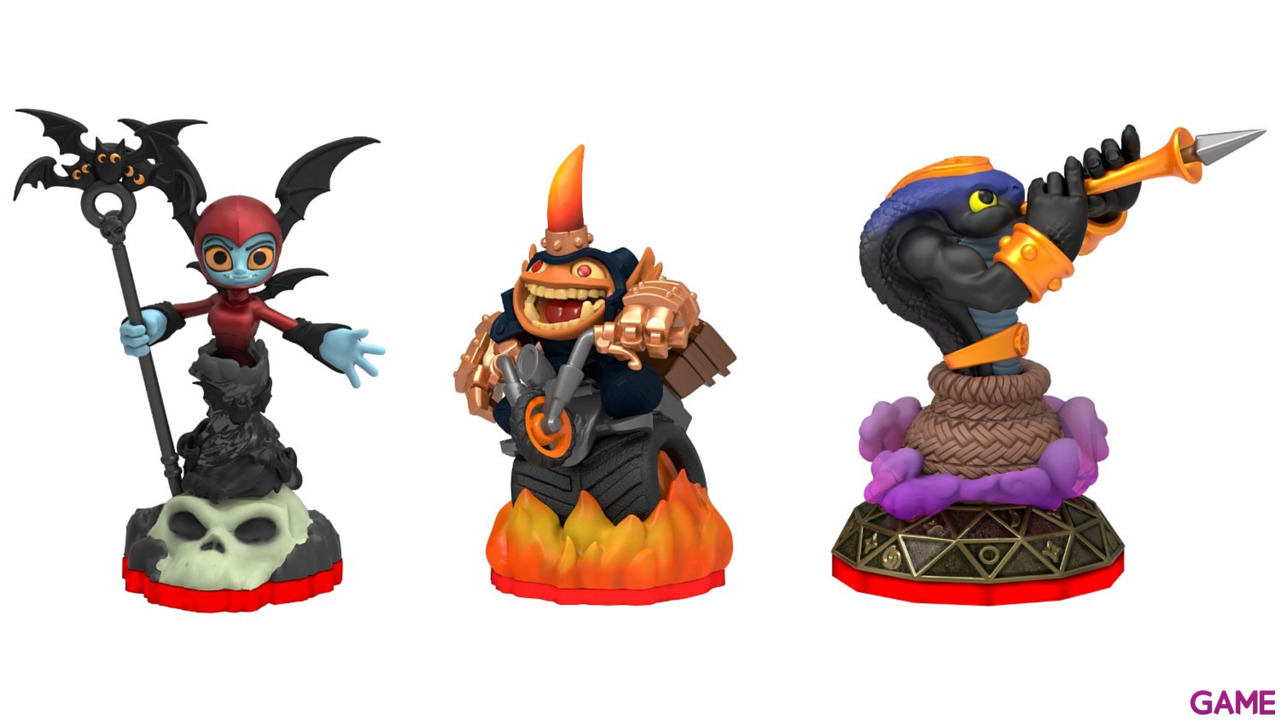 Skylanders Trap Team Triple Pack: Fryno + Bat Spin + Cobra Cadabra