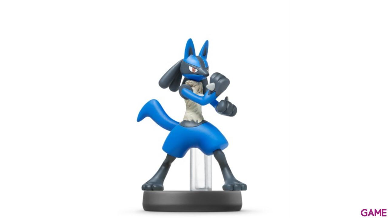 Figura Amiibo Smash Lucario
