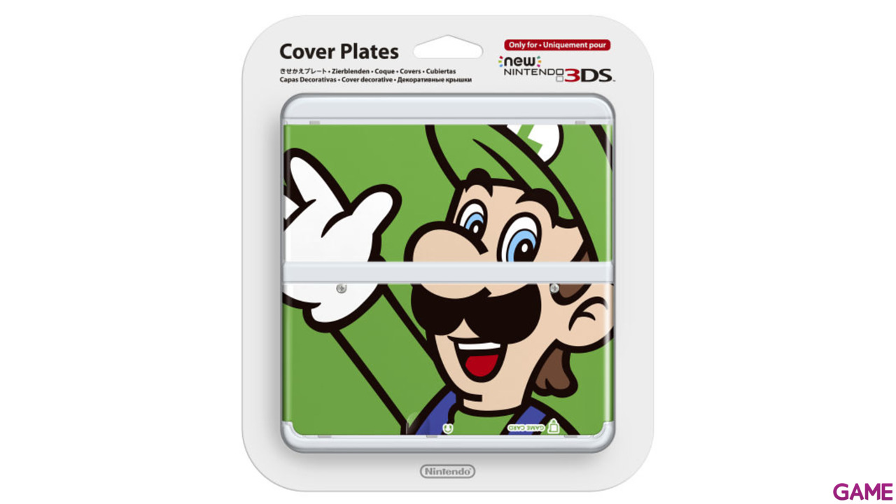 New 3DS Carcasa: Luigi