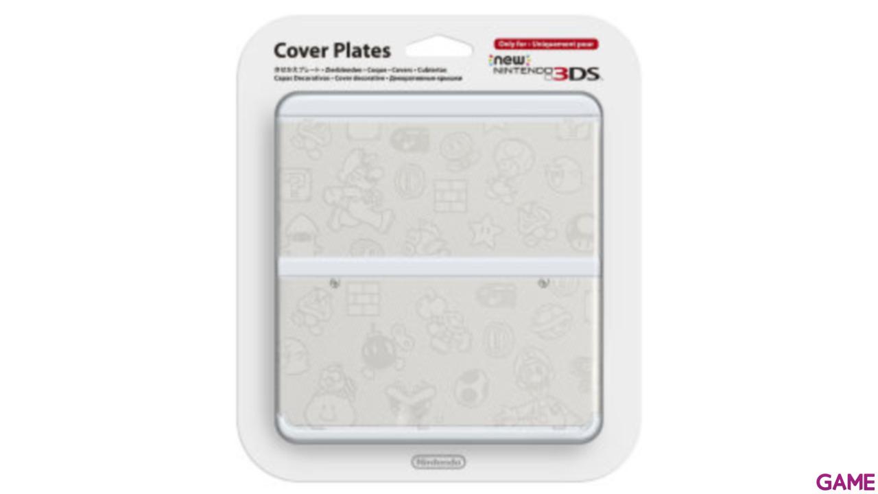 New 3DS Carcasa: Mario Blanco