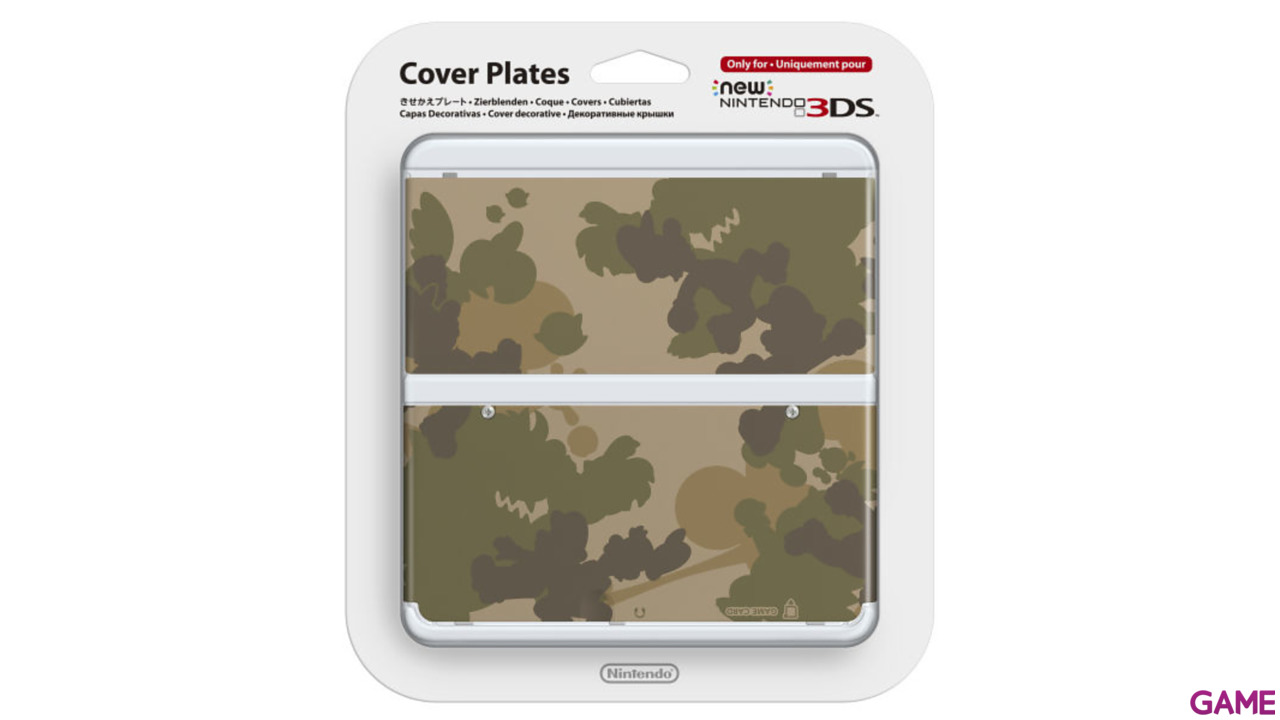 New 3DS Carcasa: Camuflaje