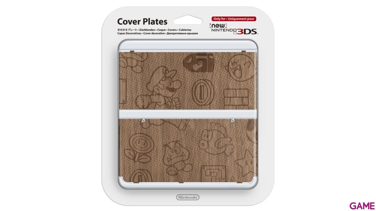 New 3DS Carcasa: Mario Madera