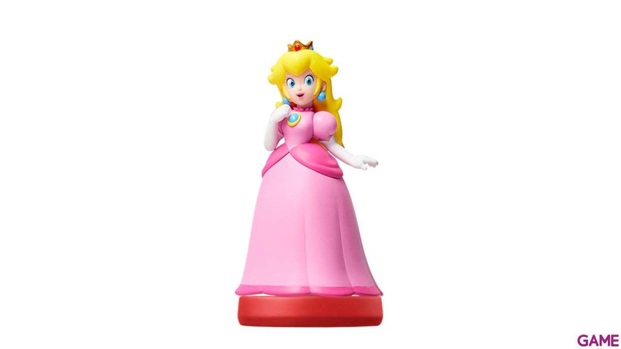 Figura Amiibo Peach - Coleccion Super Mario