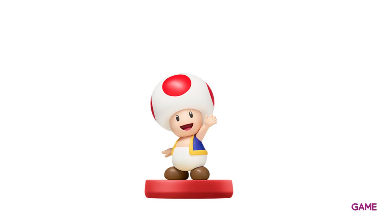 Figura Amiibo Toad - Coleccion Super Mario