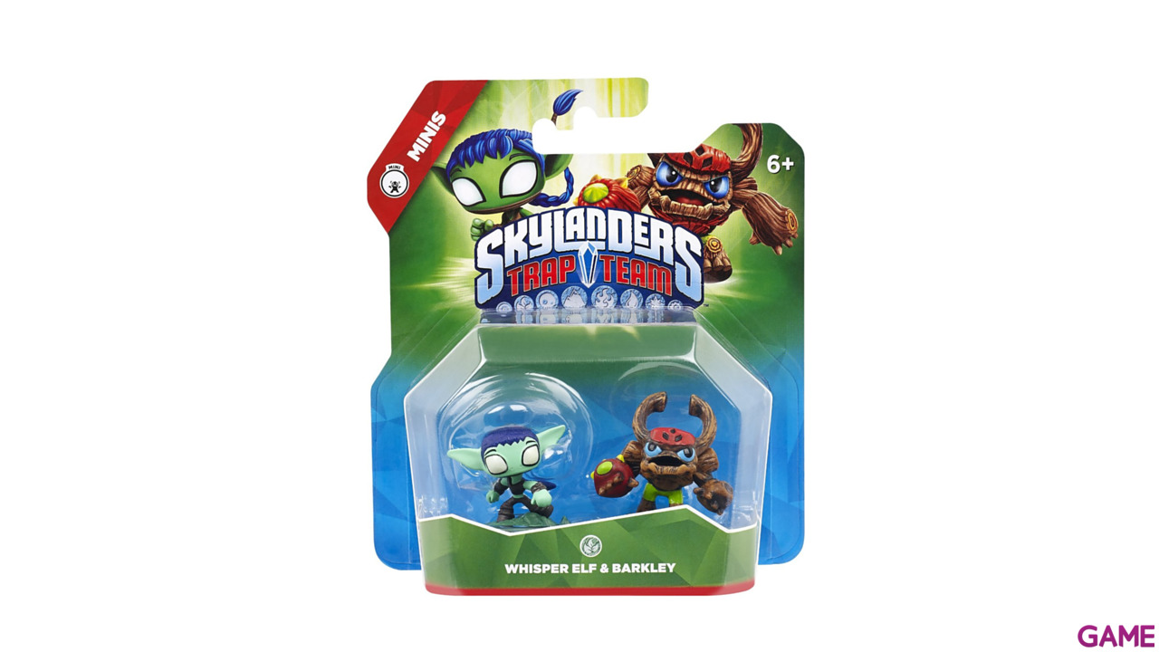 Figura Skylanders Trap Team Minis: Whisper-Barkley