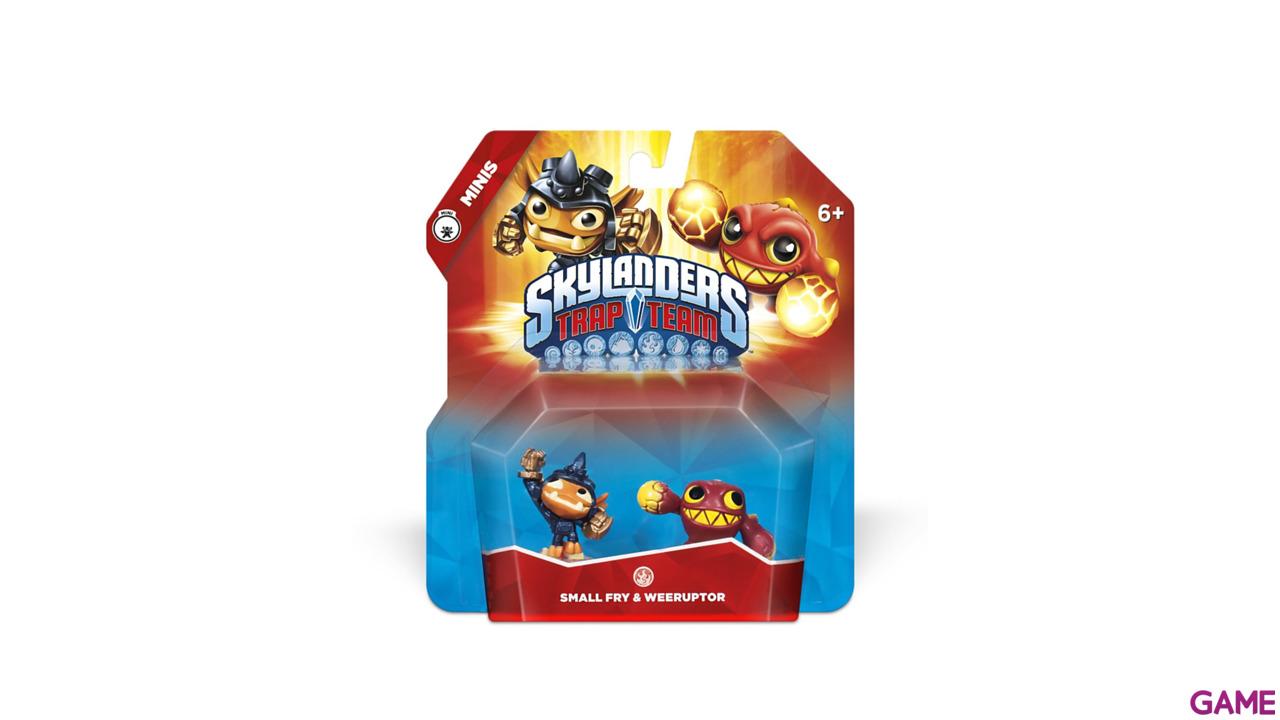 Figura Skylanders Trap Team Minis: Small-Weeruptor