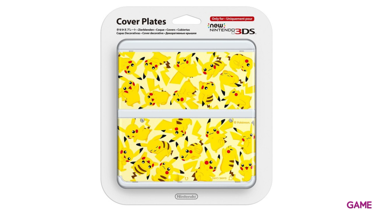 New 3DS Carcasa: Pikachu