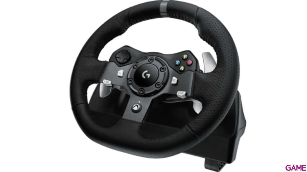volante logitech g920 driving force xone pc xbox one. Black Bedroom Furniture Sets. Home Design Ideas