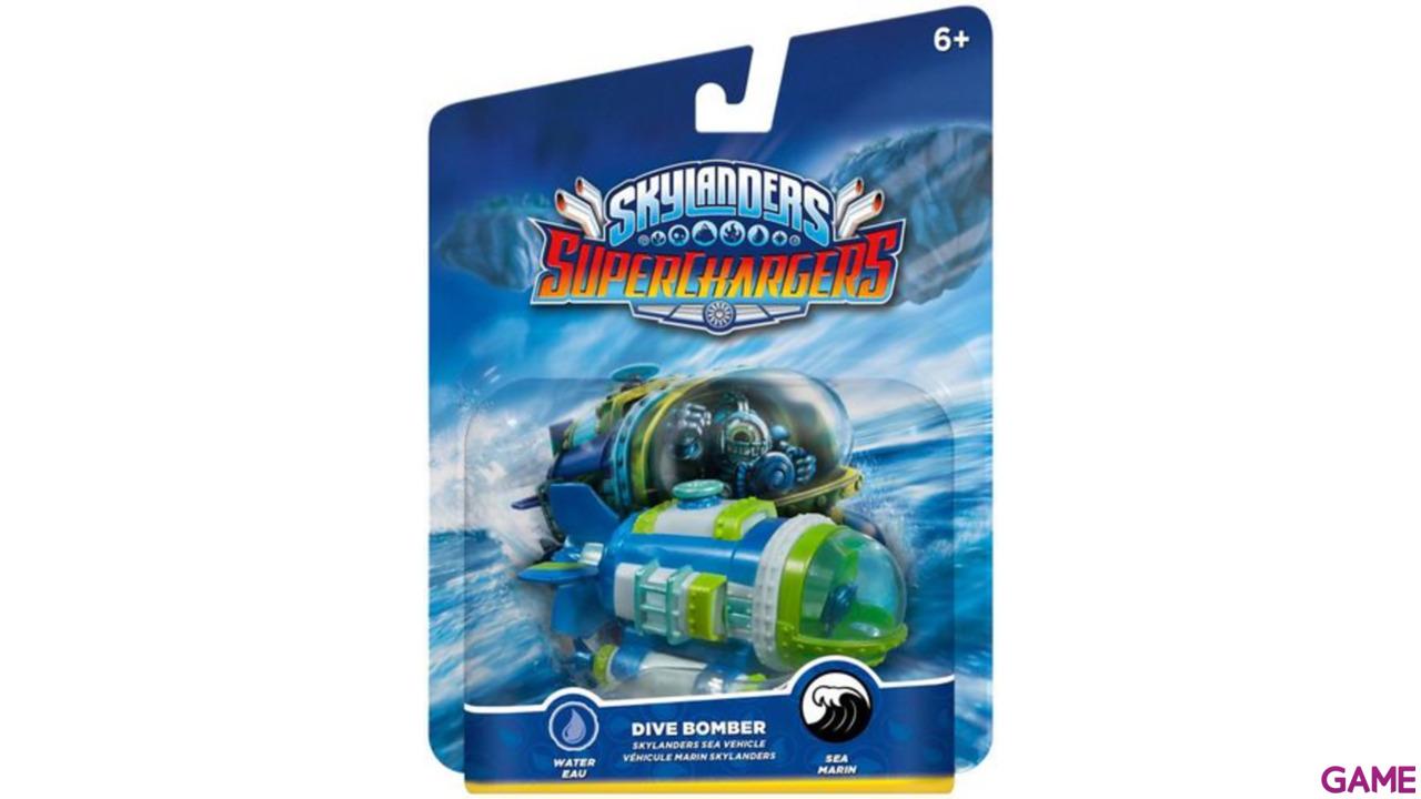 Figura Skylanders Superchargers Vehiculo Dive Bomber