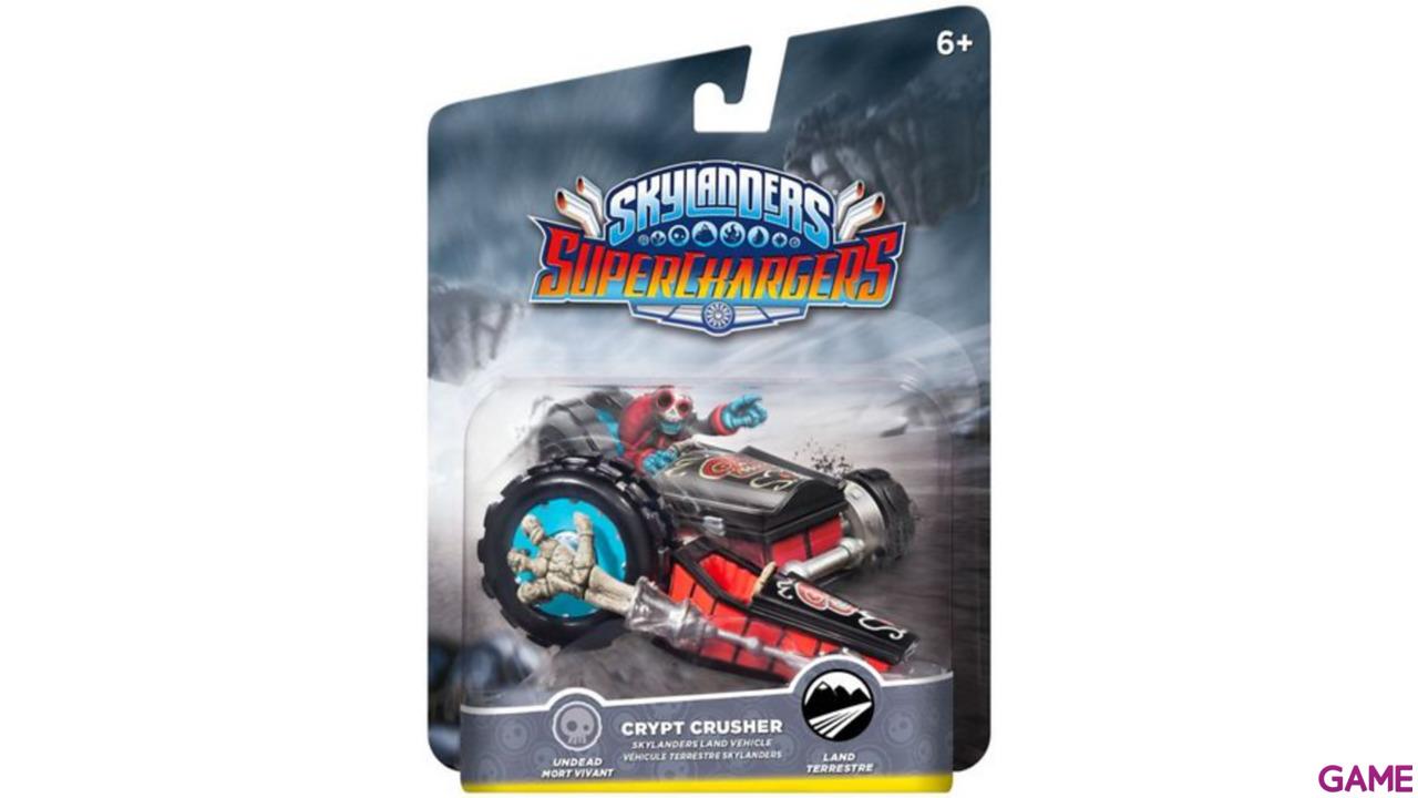 Figura Skylanders Superchargers Vehiculo Crypt Crusher