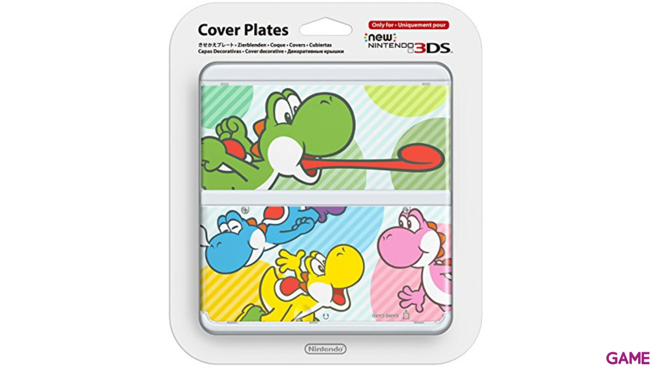 New 3DS Carcasa: Yoshi Multicolor