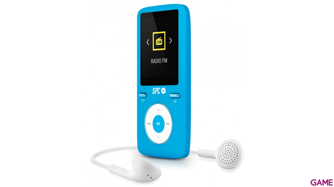 Reproductor MP4 SPC Pure Sound Azul