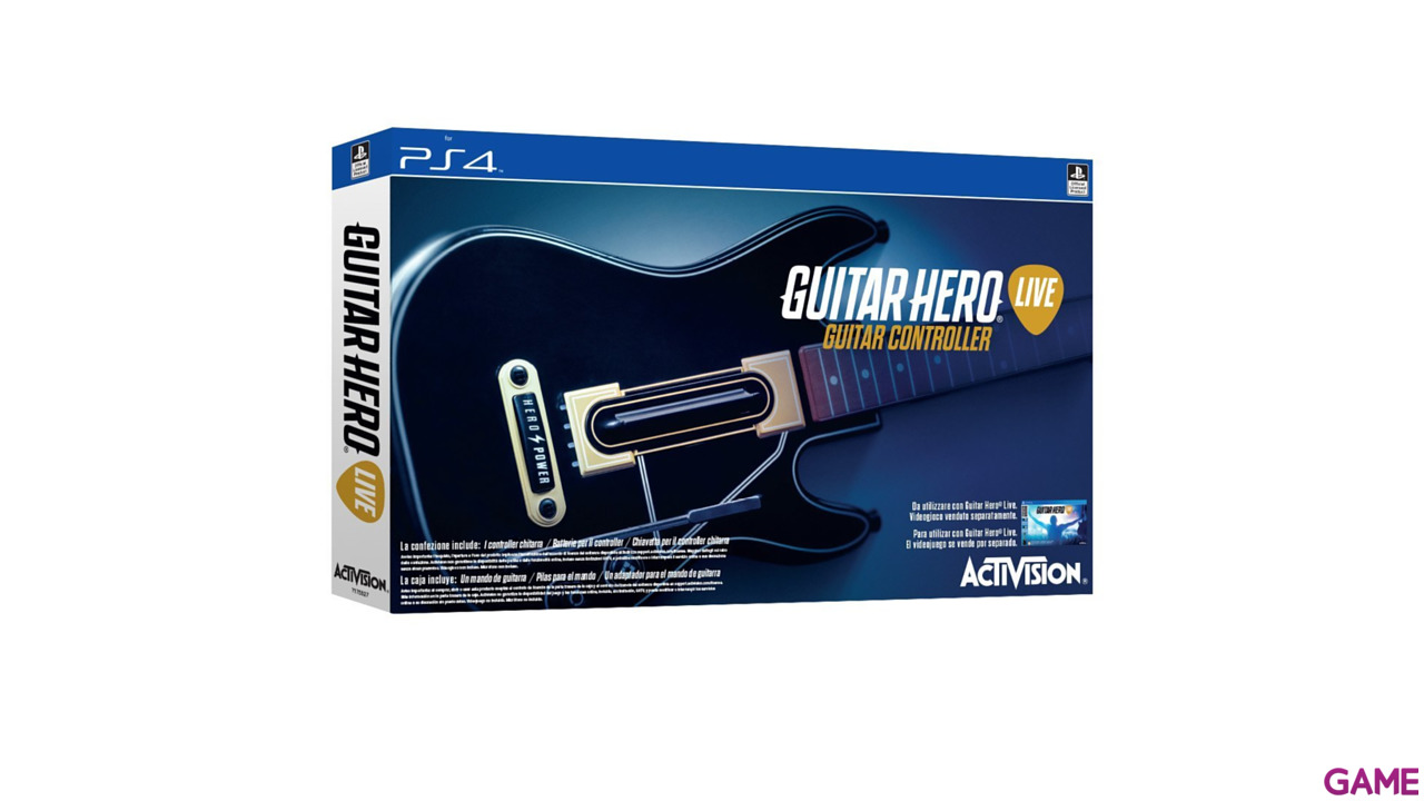 how to play guitar hero live