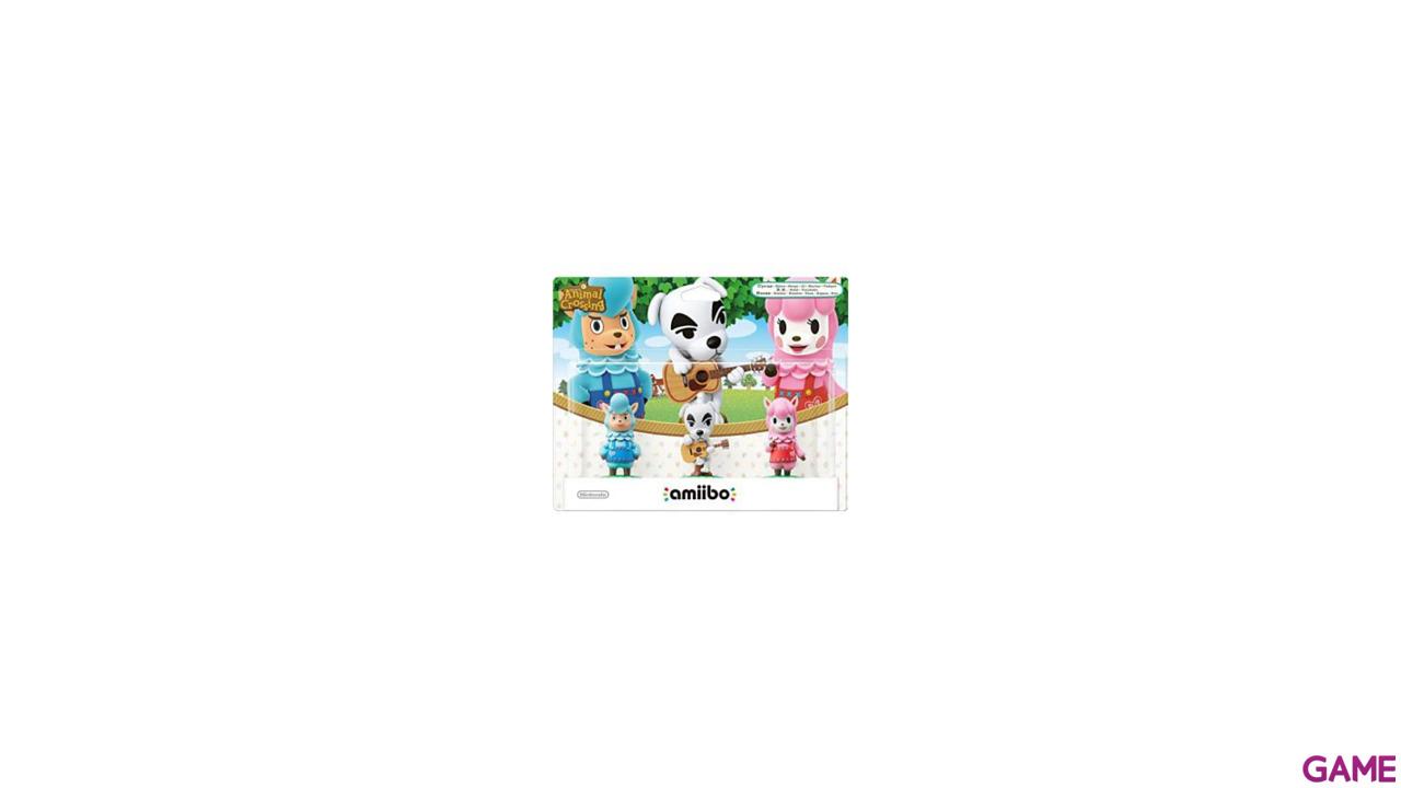 Pack 3 Figuras Amiibo: Totakeke, Al, Paca