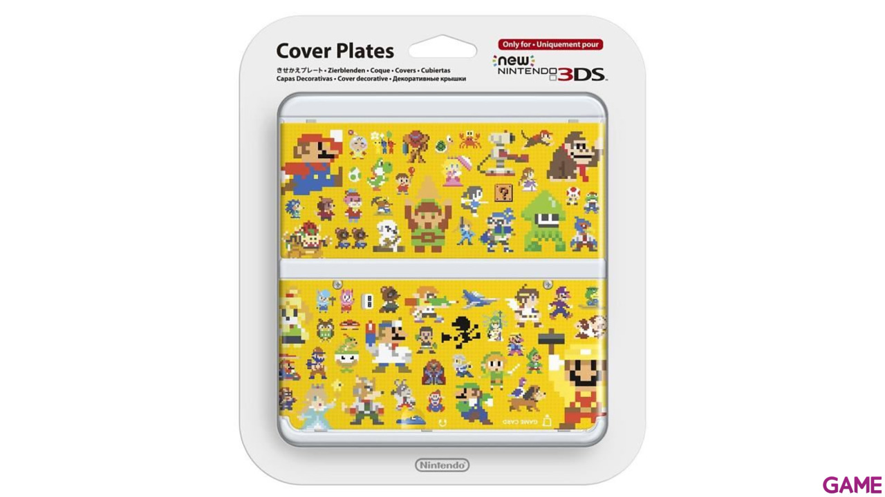 New 3DS Carcasa: Mario Maker