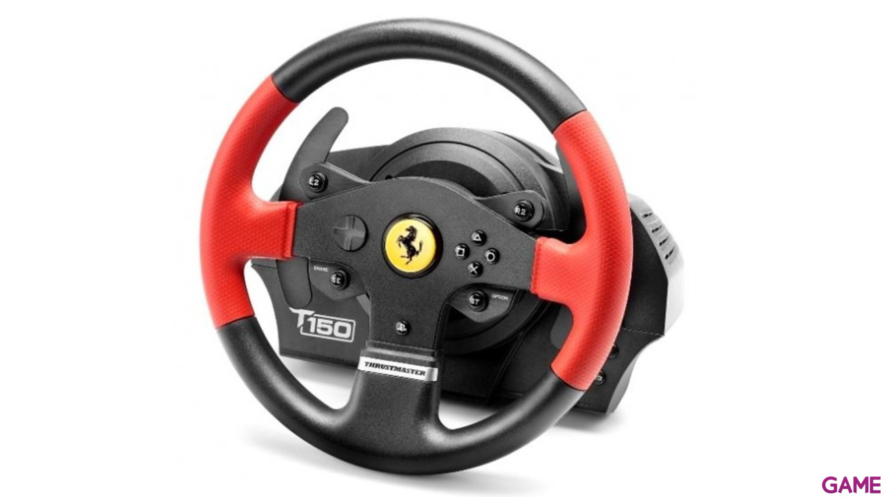 Volante Thrustmaster T150RS PS4-PS3-PC Ferrari Edition