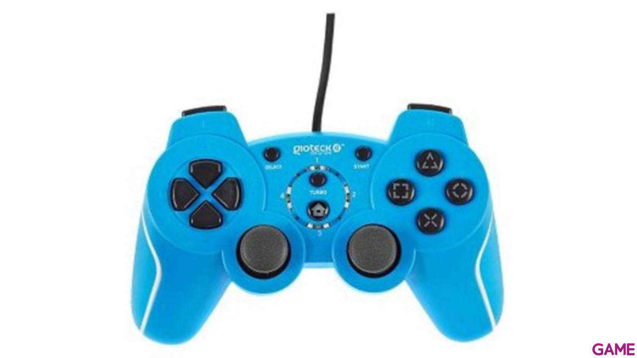 Controller Gioteck VX2 Wired PS3-PC Rojo