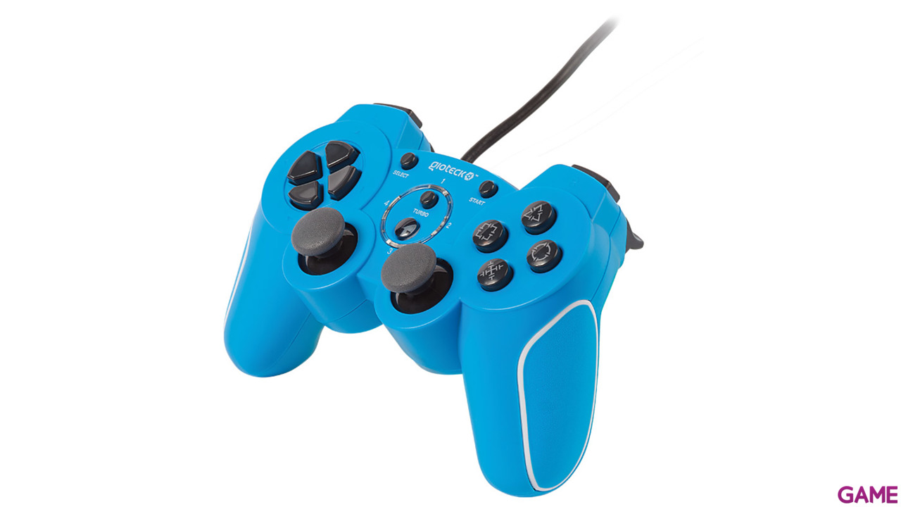 Controller Gioteck VX2 Wired PS3-PC Azul