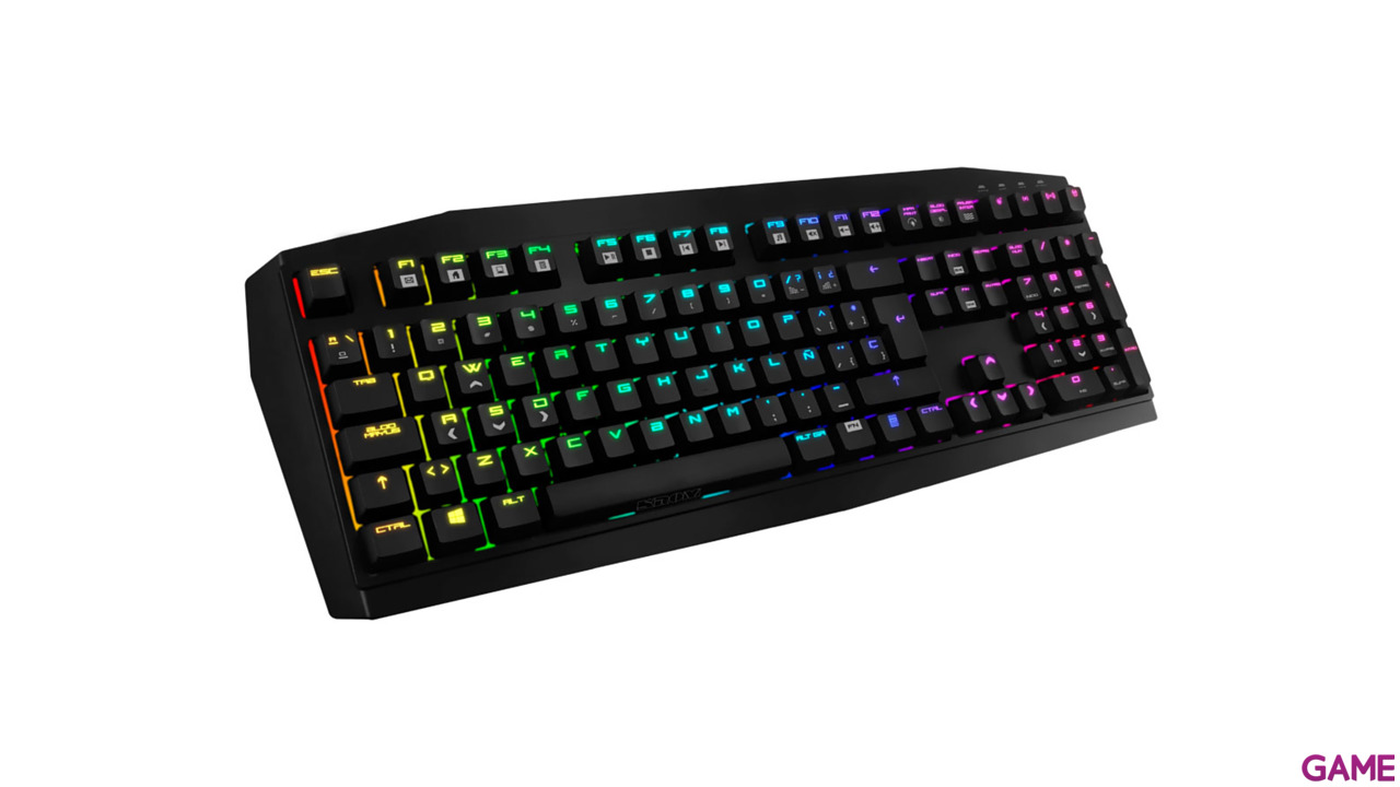 Krom Kratos RGB Switch Red - Teclado Gaming Mecánico