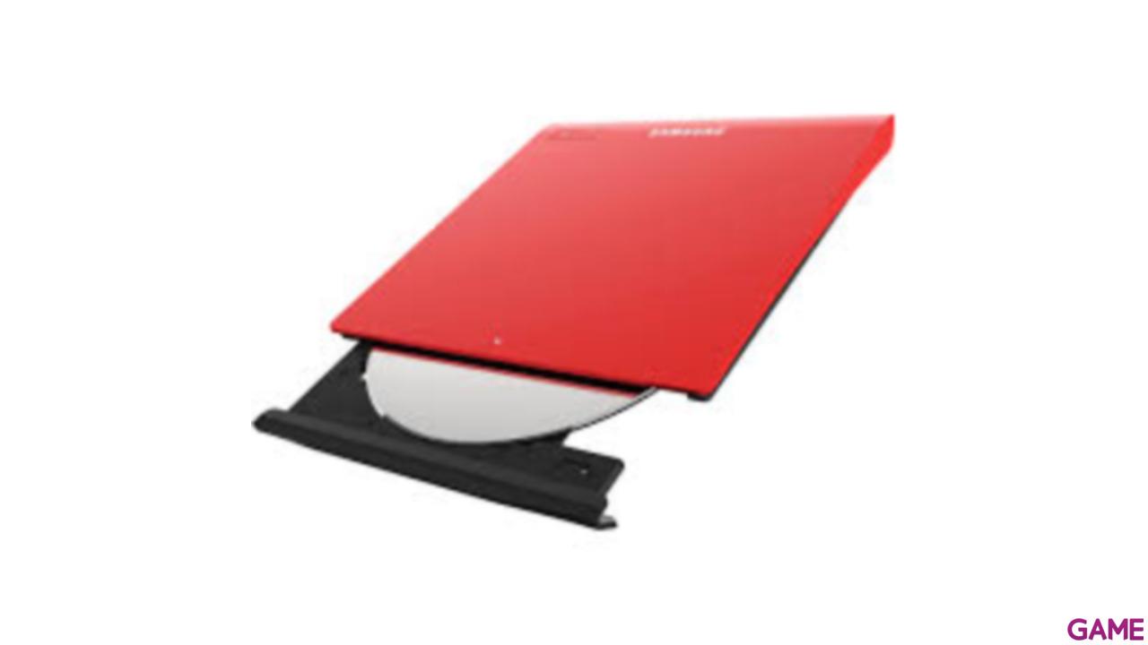 Samsung Dvd Rw Se-208Gb Usb Slim Red