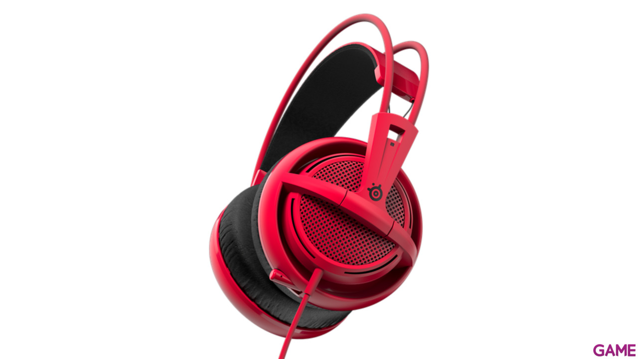 SteelSeries Siberia 200 Forged Rojo