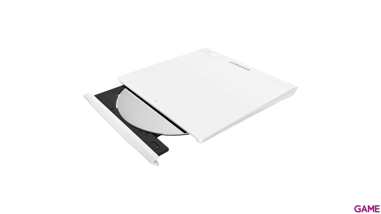 Samsung Dvd Rw Se-208Gb Usb Slim White