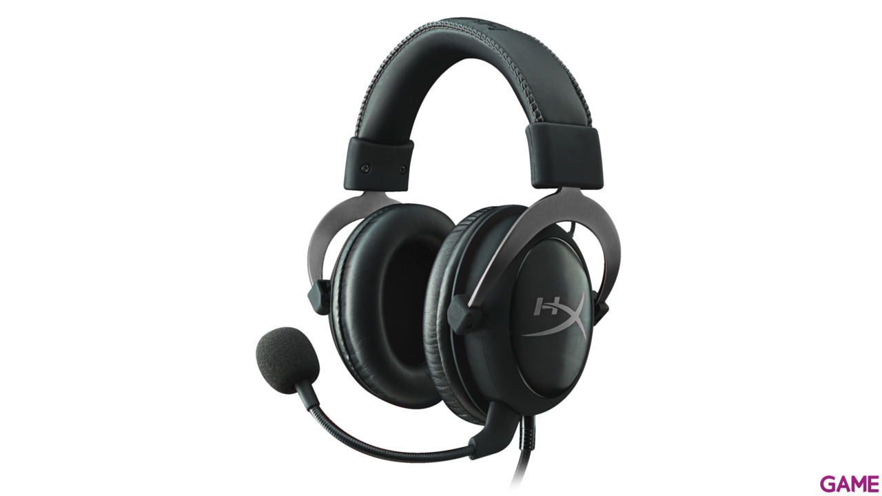 HyperX Cloud II Gun Metal 7.1 PC-PS4-XONE-SWITCH-MOVIL - Auriculares Gaming
