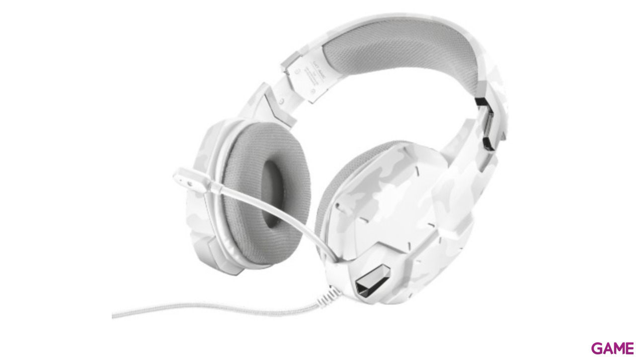 Trust GXT 322W White Camouflage