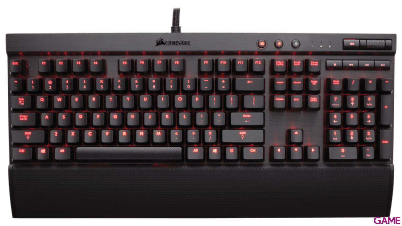 Corsair K70 Led Rojo MX Brown