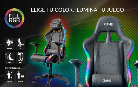 GAME RACING ELITE RGB GT400